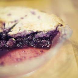 Mom's Blueberry Pie
