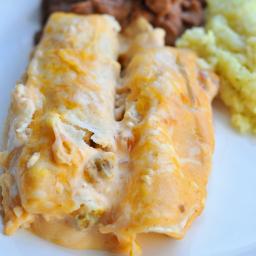 Mom's Chicken Enchiladas