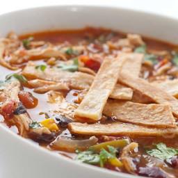 Chicken Tortilla Soup - Moms