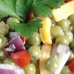 Mom's Easy Pea Salad