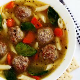 Mom's Italian Wedding Soup