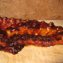 Mom's Oven-Barbecued Ribs