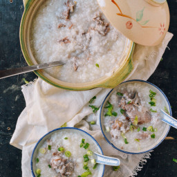 Mom's Pork Bone Congee