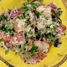 Mom's Potato Watercress Salad