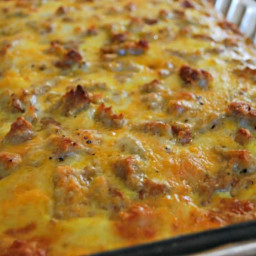 Mom's Sausage and Egg Breakfast Casserole