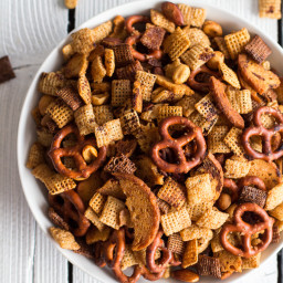 Mom's Secret Christmas Eve Chex Mix
