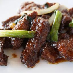 Mongolian Beef - Traditional