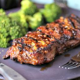 Mongolian Glazed Grilled Steaks