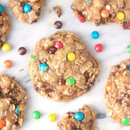 Monster Cookies {No flour or butter!}