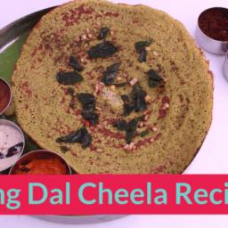 Moong Dal Cheela Recipe