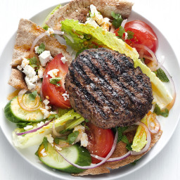 Moroccan Burger Salad
