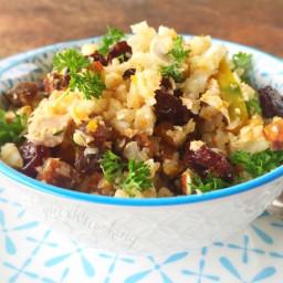 Moroccan Cauliflower 'Cous Cous' Salad