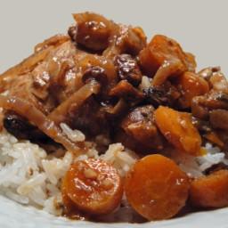Moroccan Chicken Stew, Crock Pot