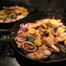 Moroccan Chicken with Preserved Lemons For a Crowd