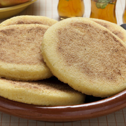 Moroccan Harcha Semolina Pan-Fried Flatbread