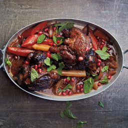 Moroccan Lamb Shanks with Pomegranate