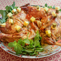 Moroccan Mechoui (Slow Roasted Leg of Lamb or Shoulder) Recipe