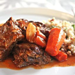 Moroccan Pot Roast With Dried Cherry Couscous