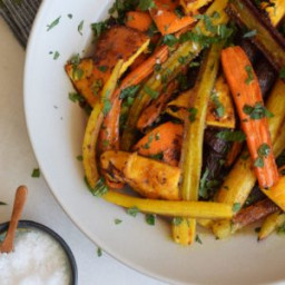 Moroccan Roasted Carrots with Orange Recipe