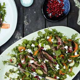 Moroccan Skirt Steak Salad With Chermoula