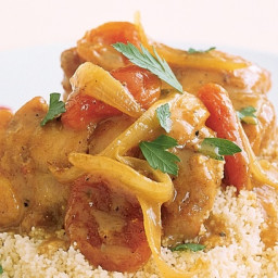 Moroccan Spiced Apricot Chicken
