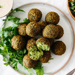 Most Delicious Falafel Recipe (Fried or Baked)