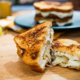 Mozzarella Stick Grilled Cheese
