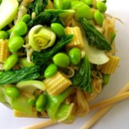 MSG-Free Vegetable Lo Mein