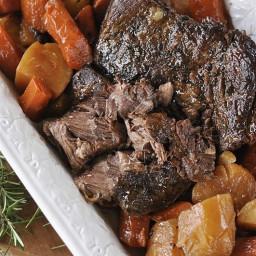 MThe Perfect Slow Cooker Pot Roast