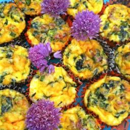 Muffin Sized Breakfast Quiche