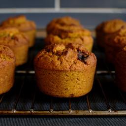 muffiny dyniowe bez cukru