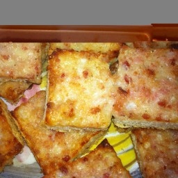 Muffi's Famous Cheese and Bacon Toasties