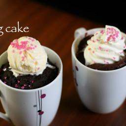 mug cake | microwave cake recipe | brownie and red velvet mug cake