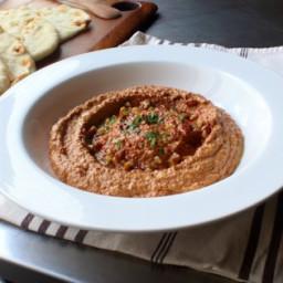Muhammara (Roasted Pepper & Walnut Spread) Recipe