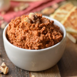 Muhammara (Syrian Red Pepper and Walnut Dip)