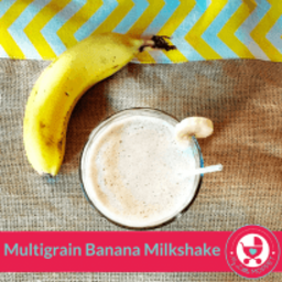 Multigrain Banana Milkshake Recipe