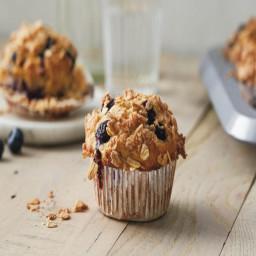 Multigrain Blueberry Muffins