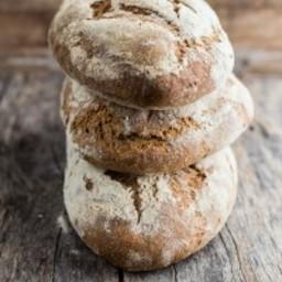 Multigrain bread loaf