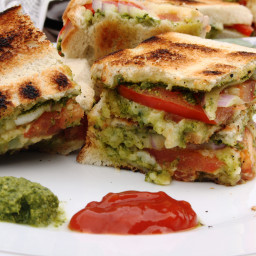 Mumbai Chilli Cheese Sandwich