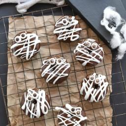 Mummy Pumpkin Quinoa Donuts
