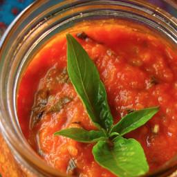 Mum's Basil tomato Sauce or KIMAS