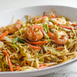 Mung Bean Sprouts with Shrimp