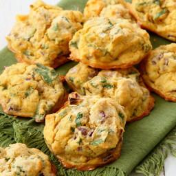 Mung Dal Fritters - Baked Moong Dal Pakoda