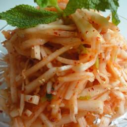 Musaengchae (Korean Radish Salad)
