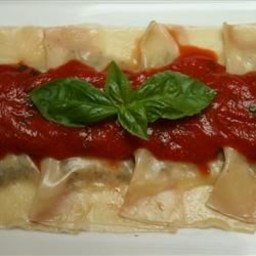 Mushroom and Mascarpone Ravioli Recipe