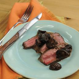 Mushroom and Red Wine Steak Sauce