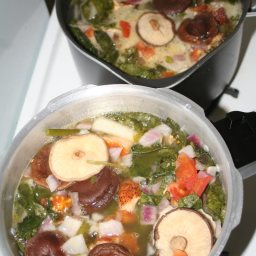 Mushroom and Soman Soup