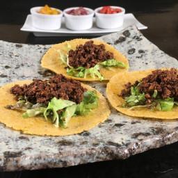 Mushroom Chorizo Tacos