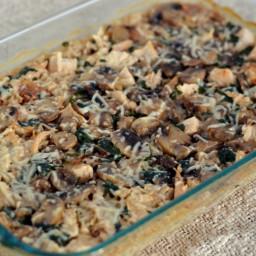 Mushroom & Marsala Casserole