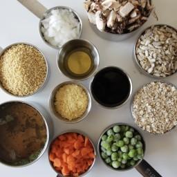 Mushroom-Millet Tourtière